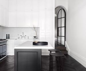 black, design, and floor image