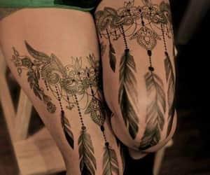 encaje, tatto, and tinta image