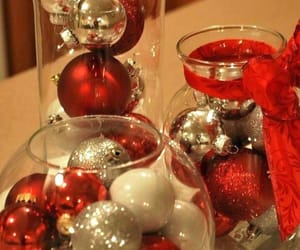 christmas, decorations, and gold image