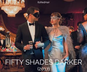 mask, romance, and fifty shades darker image