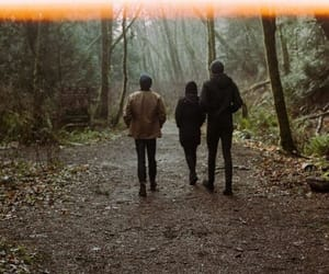 forest, friends, and nature image