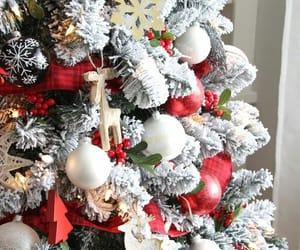 christmas, decorations, and lights image