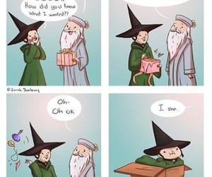 dumbledore and funny image