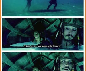 pirates of the caribbean, orlando bloom, and jack sparrow image
