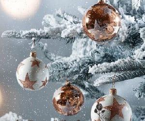 merry christmas, tree, and christmas spirit image