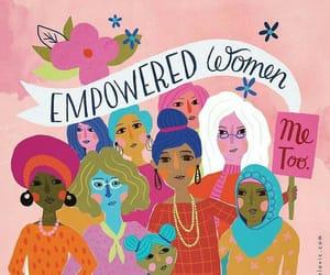 girls, feminism, and inspiration image