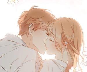 couple, love, and ️anime love image