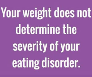 anxiety, awareness, and eating disorder image