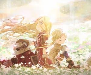 anime, sun, and yellow image
