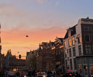 amsterdam, city, and pastel image