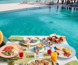 breakfast, food, and summer image