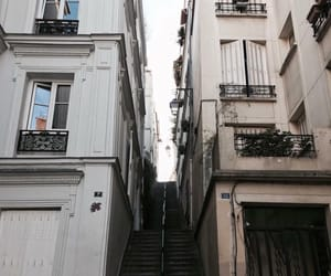 explore, pale, and stairs image