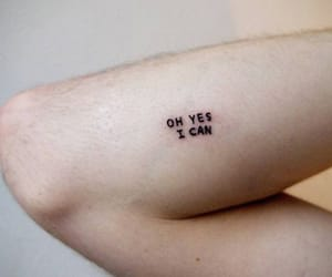 tattoo, yes, and oh yes i can image