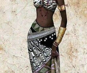 black, strong, and woman image