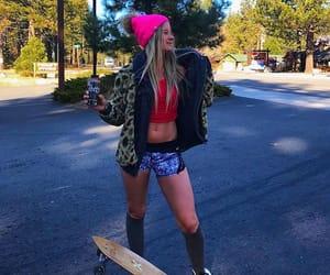 skateboarding, board, and skatelife image