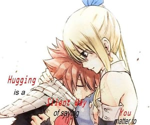 anime, couple, and Lucy image