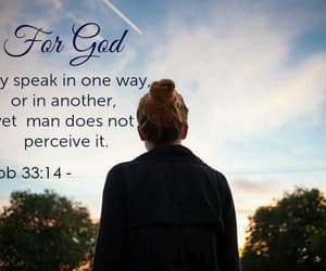 girl, god, and bible verse image