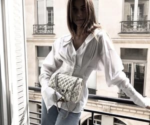 bag, clutch, and pretty image