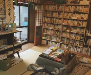 books, bookstore, and cozy image