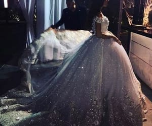 bride, dresses, and wedding image