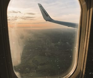 airplane, fall, and Great Britain image
