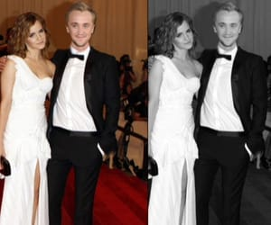 actor, draco malfoy, and emma watson image