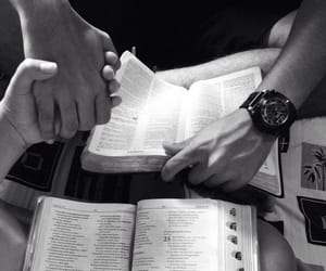 love, couple, and bible image
