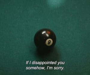 alternative, billiard, and disappointed image