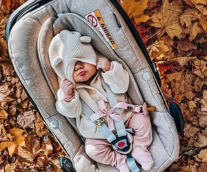 baby, autumn, and beautiful image