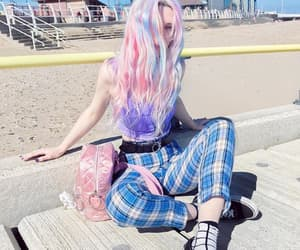 alternative, beach, and hair image