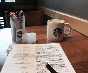 coffee, college, and motivation image