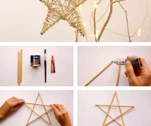 diy, christmas, and stars image