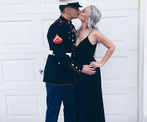 ball, black dress, and couple image