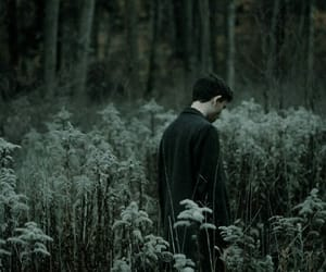 atmosphere, boy, and dark image