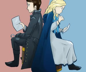 alice, Father and Daughter, and once upon a time image
