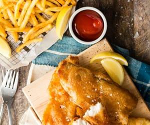 amazing, fish & chips, and england image