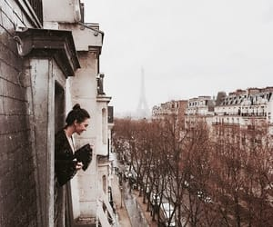 paris, girl, and adventure image