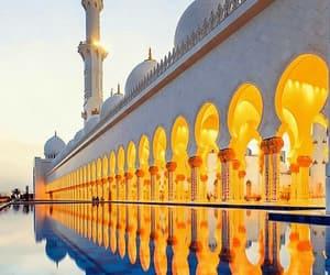 abu dhabi, beautiful, and explore image