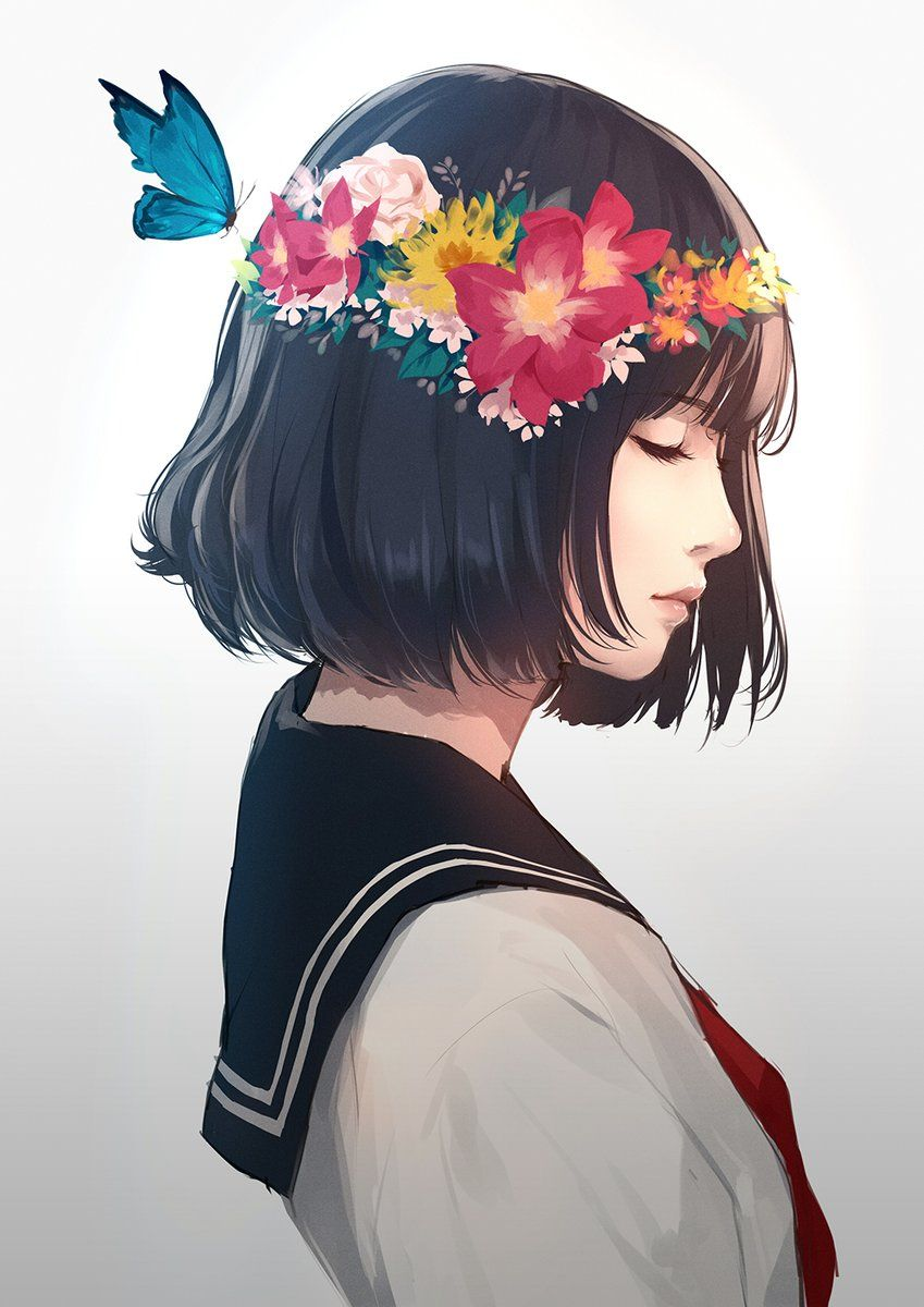 Image About Girl In Illustration By 뭐 On We Heart It