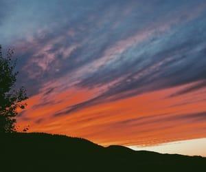 beautiful, norway, and sunset image