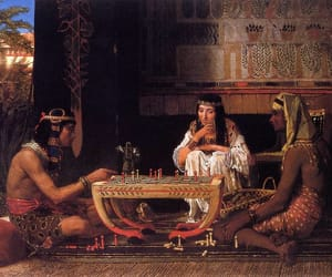 ancient, chess, and painting image
