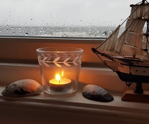 candle, cozy, and photo image