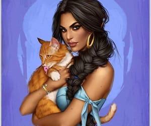 cat, morado, and dara image