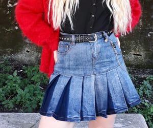 alternative, fashion, and skirt image