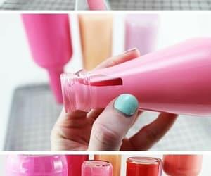 diy, botellas, and florero image