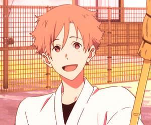 anime, anime boy, and tsurune image