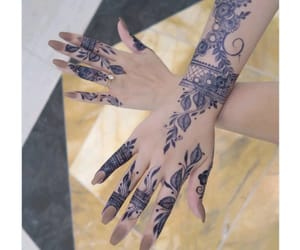 design, henna tattoo, and tattoo image