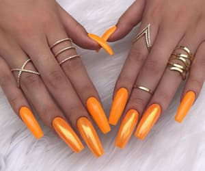 accessories, sparkle, and nails image