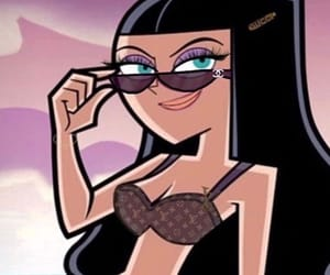 90s, glam, and cartoon image