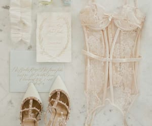 bridal photography, blush color, and invite image